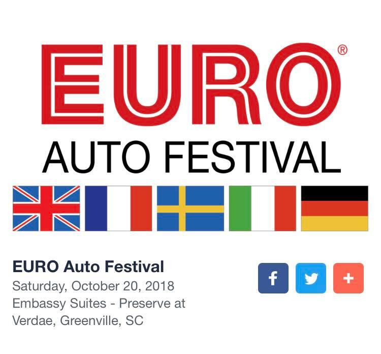 Euro Auto Festival | Preserve at Verdae | Greenville, South Carolina