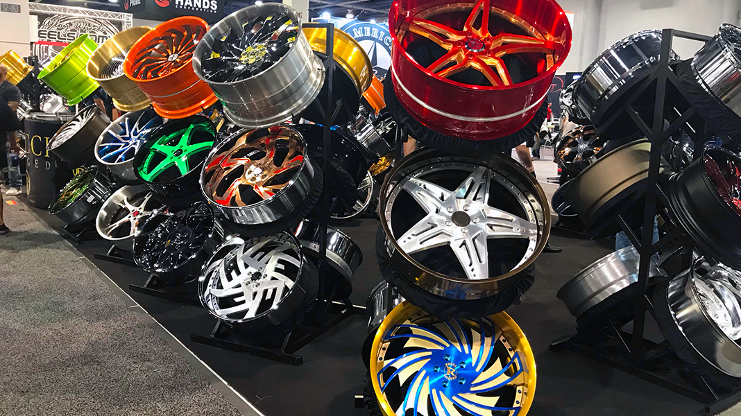 Wheels, Wheels, Wheels  | SEMA 2018  | Day Three