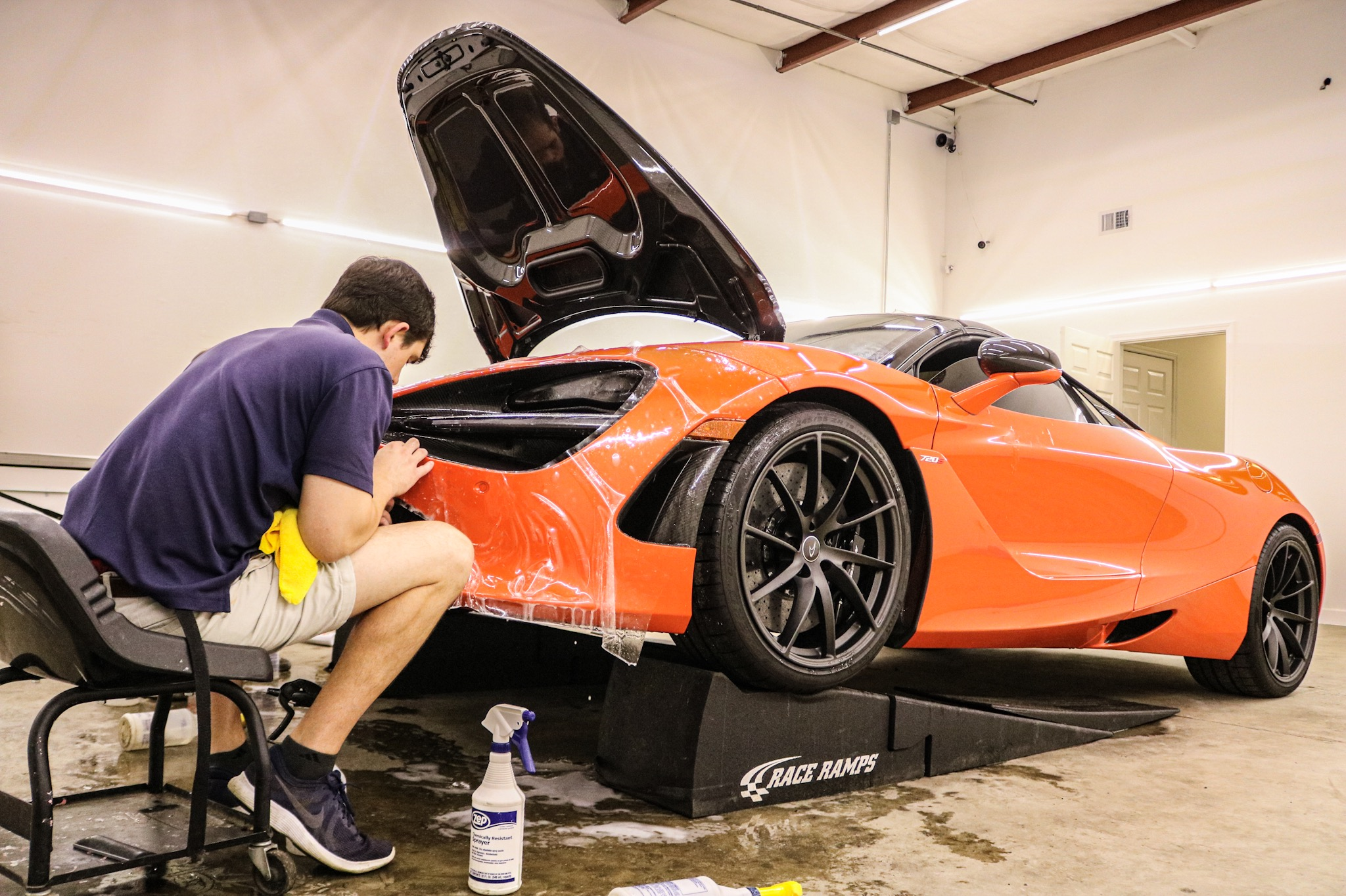 McLaren 720 Gets XPEL Clear Bra & Ceramic Pro Coating
