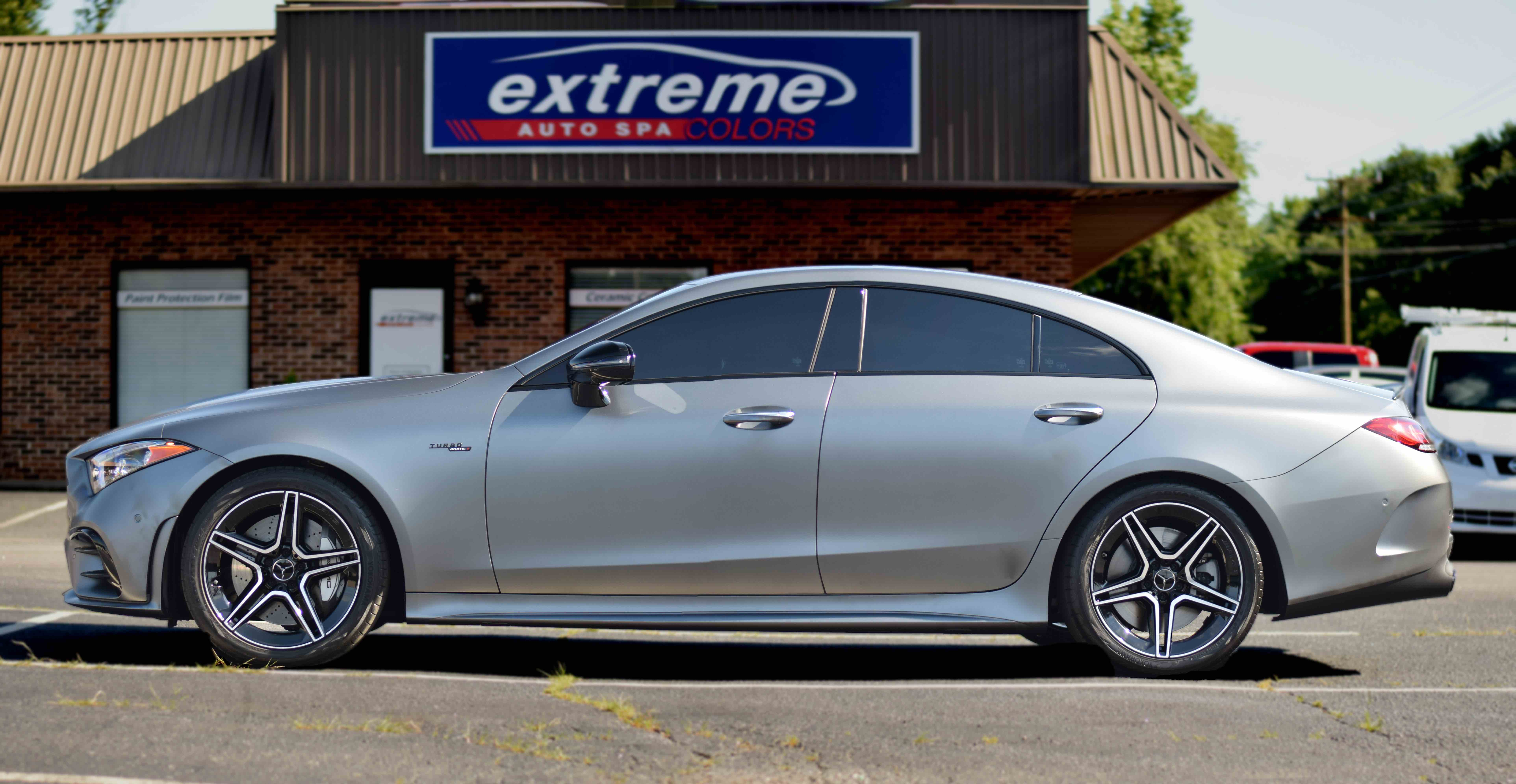 XPEL STEALTH Full Wrap on Mercedes CLS 53 AMG
