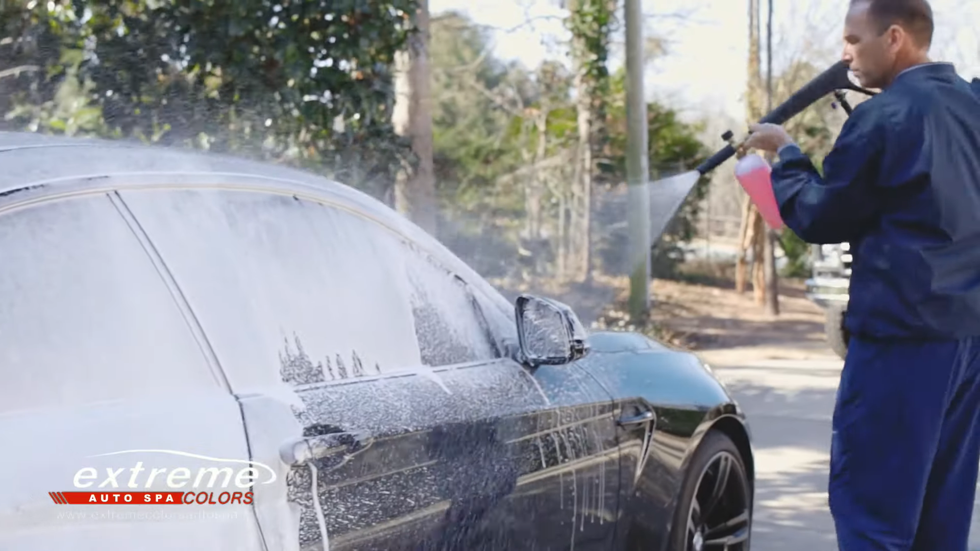 Extreme Steps to the Perfect Car Wash