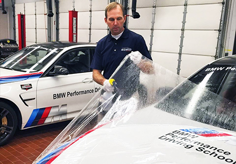 BMW Performance Center Paint Protection